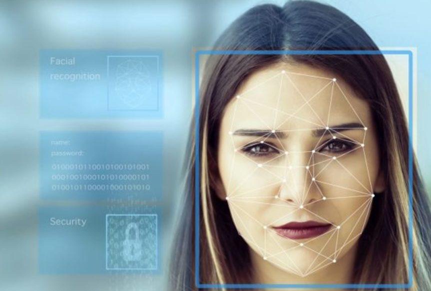 Facial recognition picture